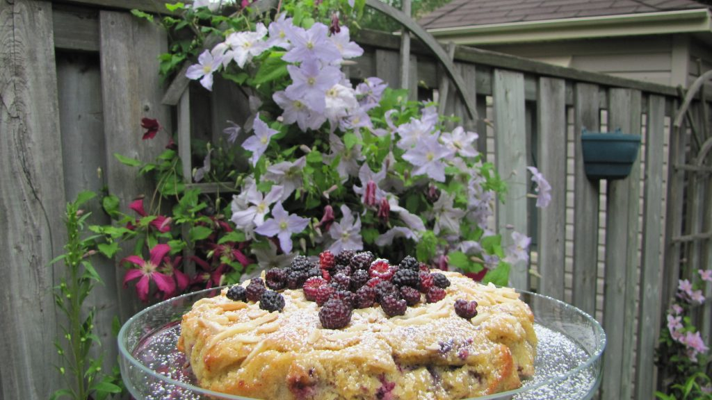 The Berries of Summer Cake