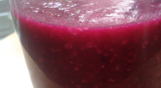 Revitalizing and Immune Boosting Beet Smoothie