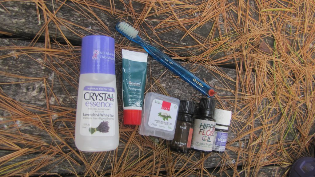 Camping natural Cosmetic Supplies