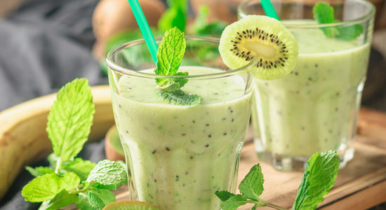 Green Lemonade That Helps Boost Digestion
