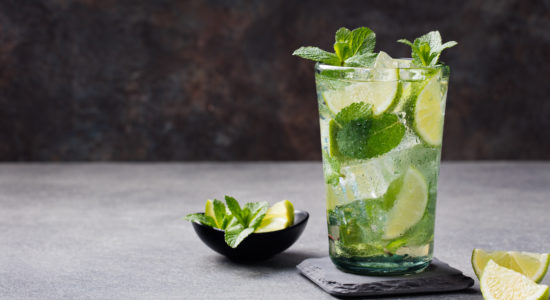 Mocktail Mojito with Kombucha – for a healthy gut