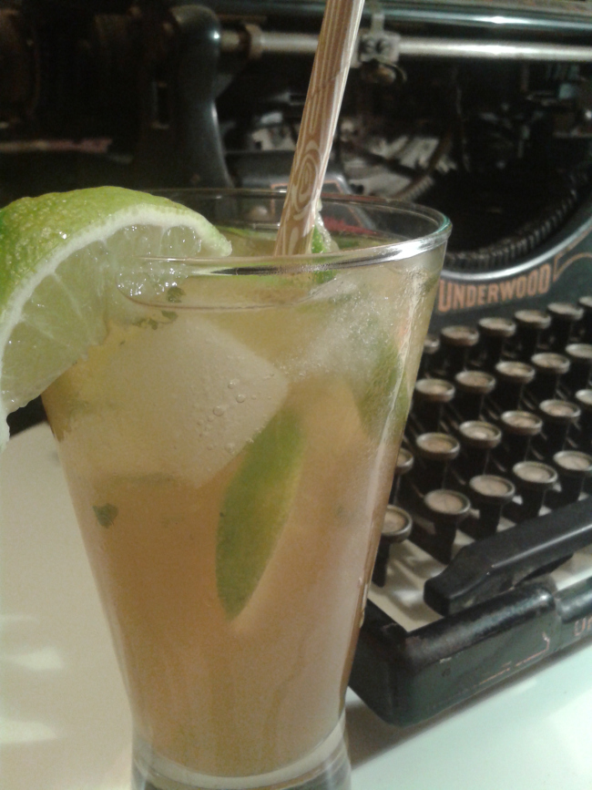 Mocktail Mojito with Kombucha