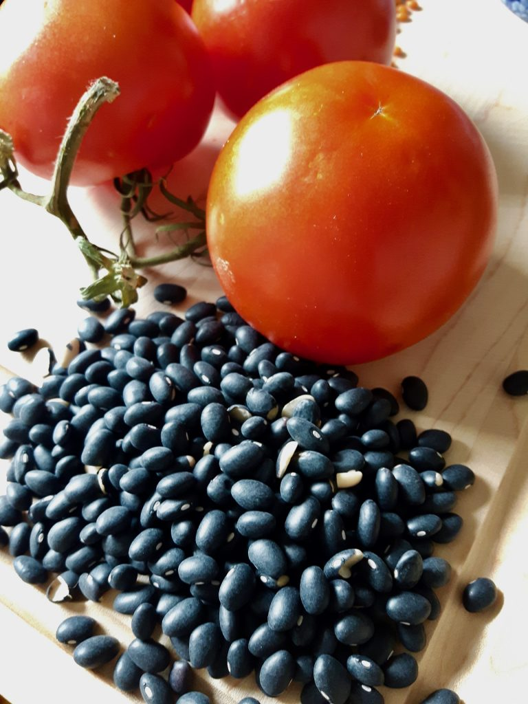 Tomato and Black Beans for soup