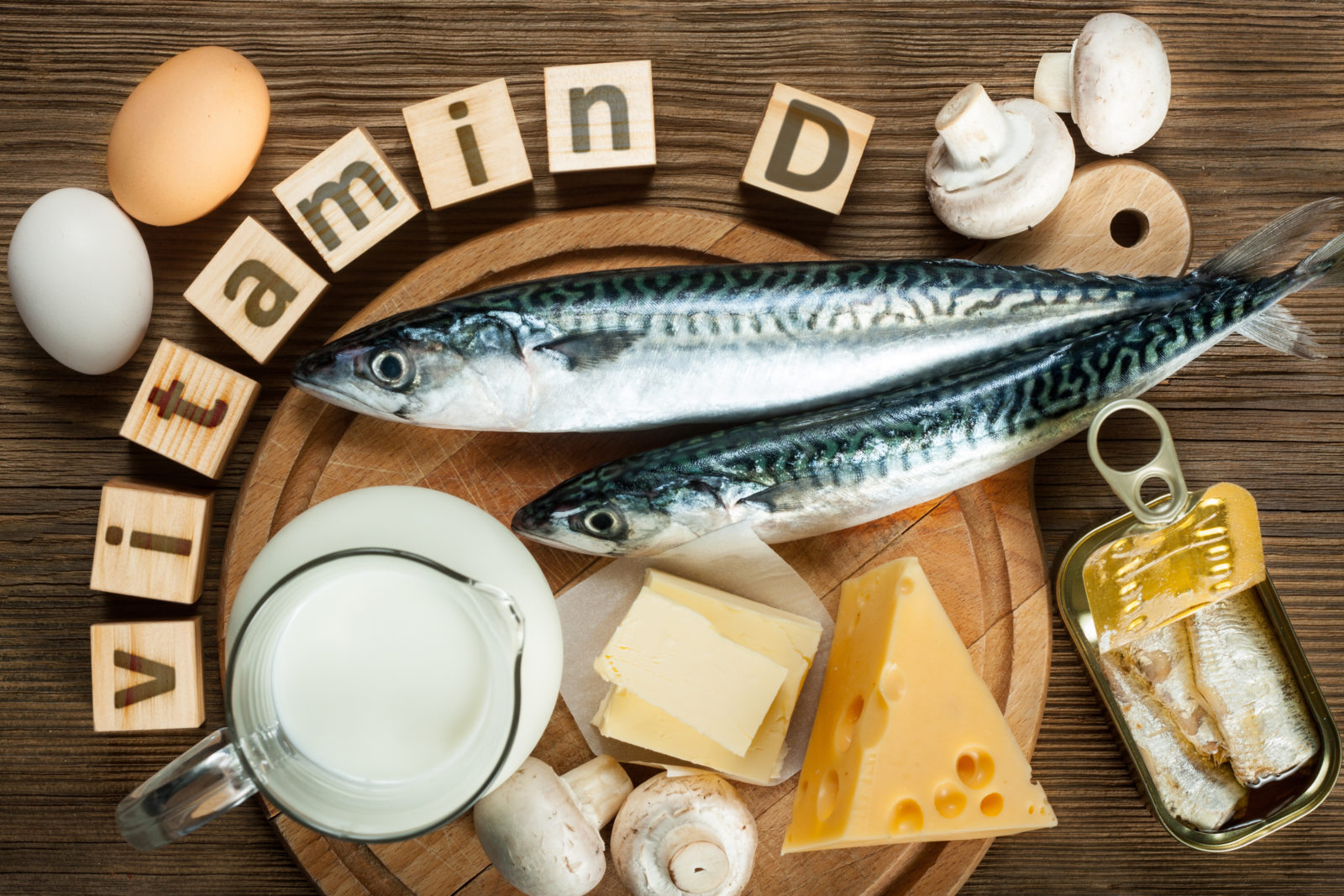 Vitamin D - Health Benefits, Deficiency, Functions & Natural Sources