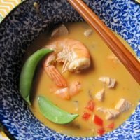 Thai Soup close up