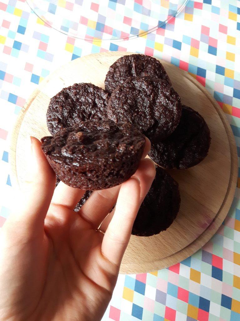 Chocolate Banana Muffin healthy