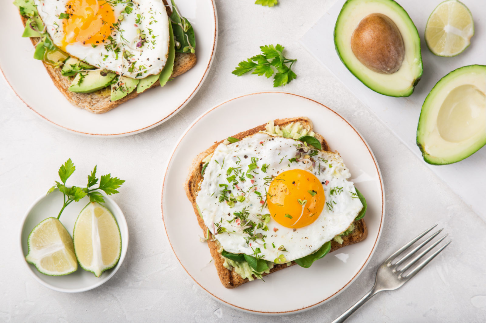 Fried Egg Avocado Sandwich