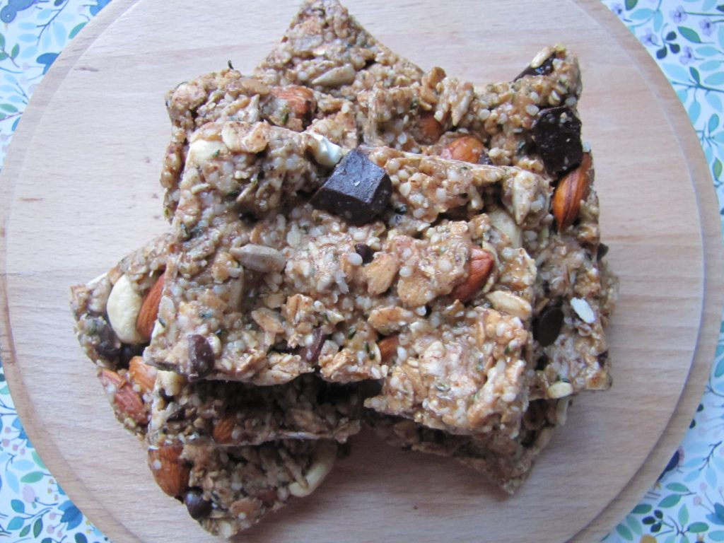 Nutty Granola piled up