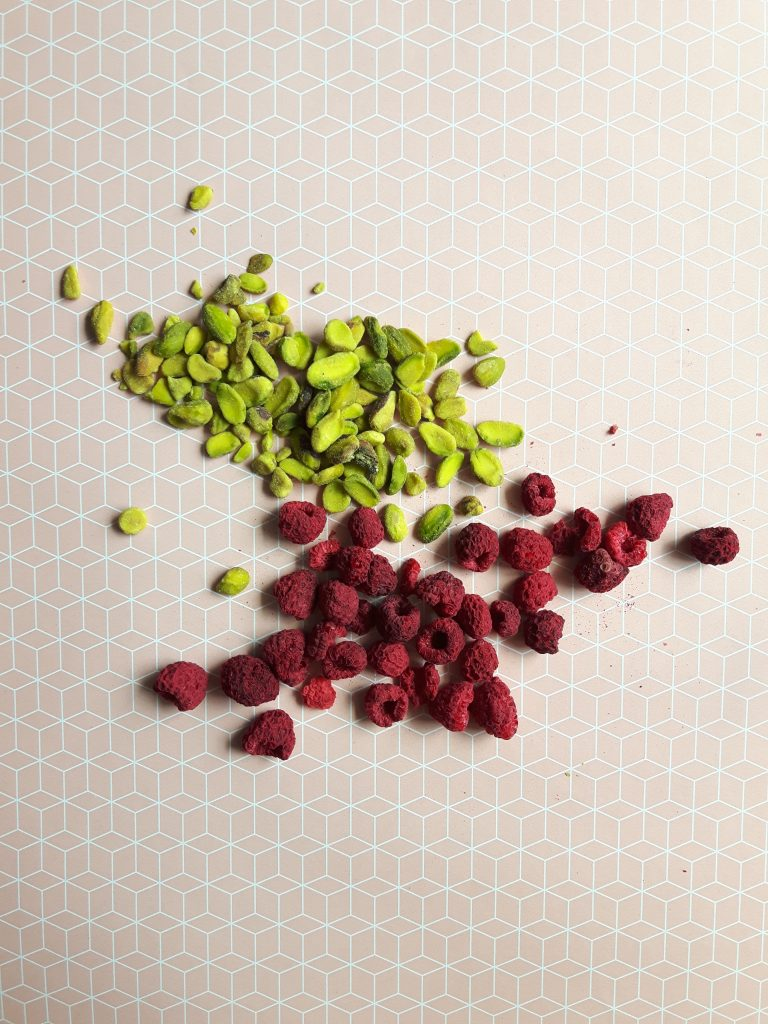 Pistachios and Raspberries organic