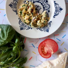 Tuscan scrambled eggs
