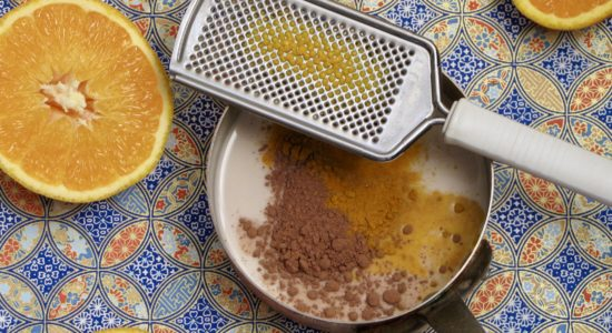 Orange Hot Chocolate – Turmeric Drink