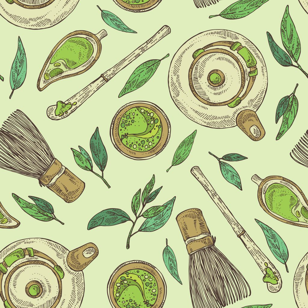 matcha drawing