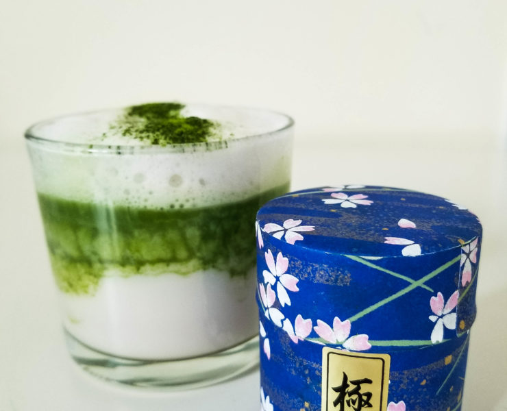 japanese ceremonial matcha latte