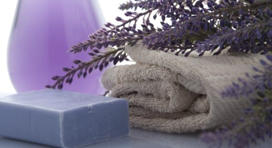 DIY Lavender Foot Soaks and Scrubs