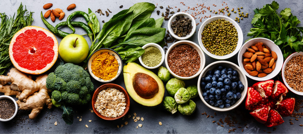 nutritious and healthy foods