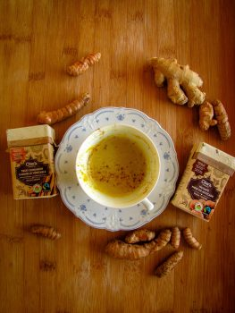 golden milk and cha's spices
